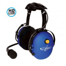 CH-10HME Over the head dual muff signature blue Cobalt headset with HME cord. 2 year HD warranty.
