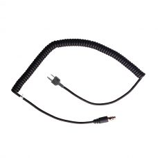 CH-ITC Headset cord with two pin connector