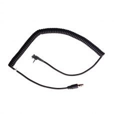 CH-MSP Headset cord with single pin connector with retainer screw