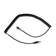 CH-VSS2S Headset cord with single pin connector with retainer screws: