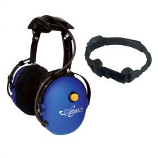 CH-10TM over-the-head dual muff headset with boom mic