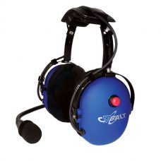 CH-11 Over-the-head dual muff headset with red PTT button, 24 dB NRR
