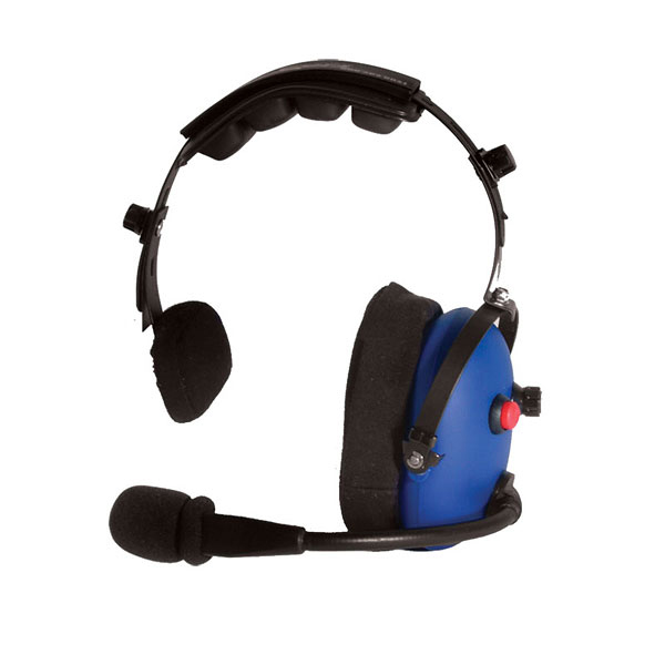 CH-16 Single ear over-the-head headset