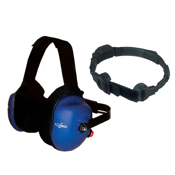 CH-21TM behind-the-head dual muff headset with boom mic