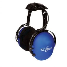 CH-30 Over-the-head dual muff listen-only headphone, w/ fixed 3.5 mm connector